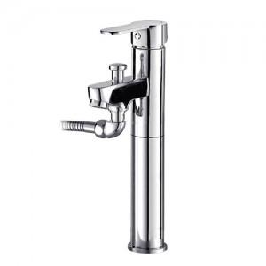 로보틱스시리즈 원홀 샤워 겸용 세면기 수전 (탑볼형) KLOT6120