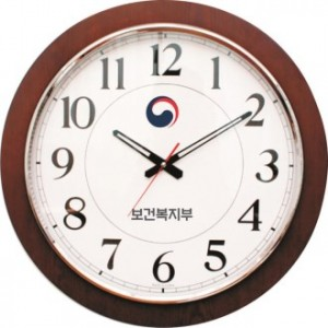 대형 500크롬링 시계