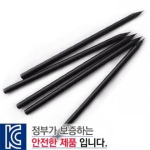흑목원형미두연필