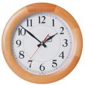 320-천연원목(무소음) 시계
