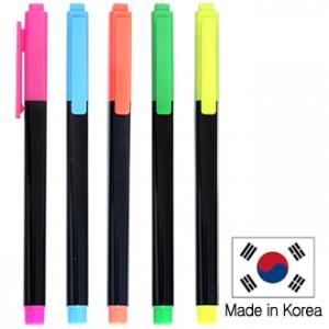 [형광펜]스타사각형광펜(국산)(불투)