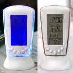 야광기능-(달력/시계/캘린더) 시계달력온도계-스탠드