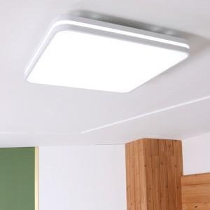 LED 유라인 사각 방등 50W  [3000K/6500K]