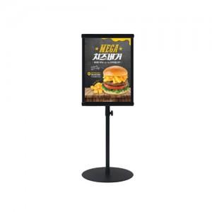 보급-테이블형 POP꽂이 A5 세로흑색 높이조절가능 BDCP-00BK