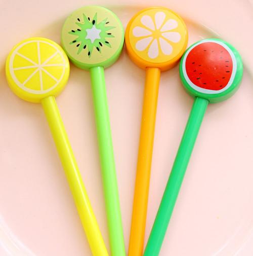 과일 모양 볼펜