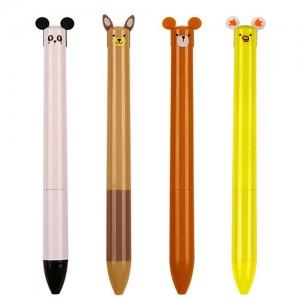 애니2색 볼펜