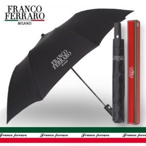 프랑코페라로 2단 블랙 자동우산