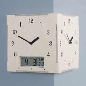 Calender Corner Clock