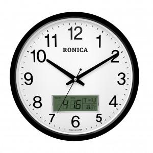 로니카 무소음 카렌다벽시계 R350BC