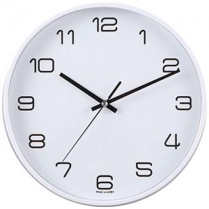 화이트심플벽시계260