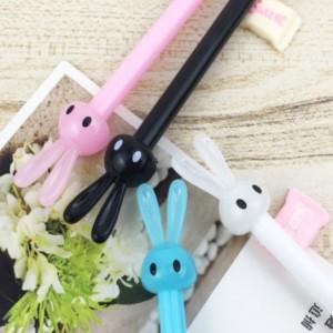 토끼 캐릭터 펜
