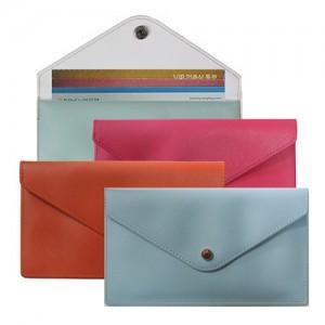[통장지갑] 칼라 파우치 지갑,통장집