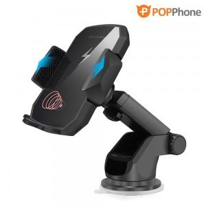 팝폰 차량용 고속 무선 충전 거치대 오토 슬라이드 HD-20