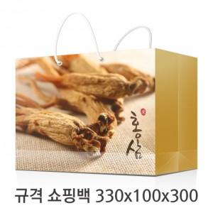 규격 칼라 코팅 쇼핑백 128호