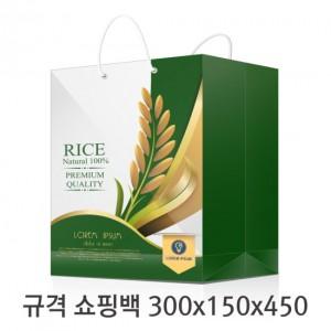 규격 칼라 코팅 쇼핑백 127호