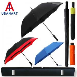 우산아트 70폰지무지+2단폰지보다+3단폰지컬러 우산3P세트