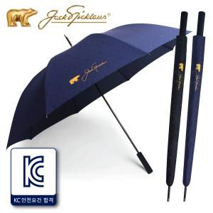 잭니클라우스75자동 크로스엠보 장우산