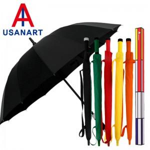 우산아트 60 14K 컬러무지 멜빵 우산