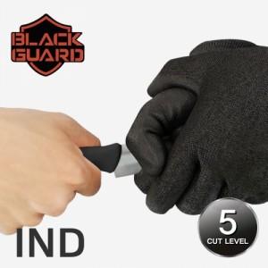 BLACK GUARD 블랙가드 (PU/경제형) - 철심사, 컷5 베임방지장갑