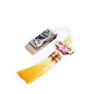 한국전통자개USB 8GB-사슴송학