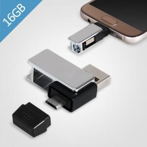 제이메타 마이크로5핀 OTG T50 실버USB 16GB