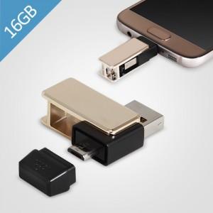 제이메타 마이크로5핀 OTG T50 골드 USB 16GB
