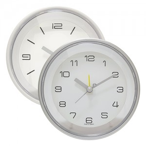 누드 원형 알람 탁상시계