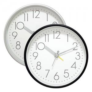 스타일 원형 탁상 알람시계