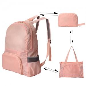 접이식 백팩 핸드백 가방 휴대성 갑