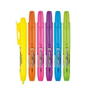 퀵마커 형광펜 (대) 6가지색상