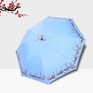 매화 3단 양우산 /컬러다양/리버설