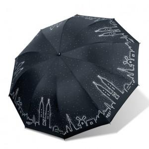 트윈타워 3단 양우산 (3색)