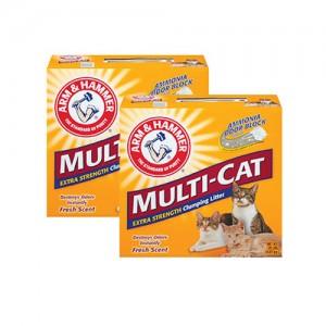 멀티캣 스트랭스 클럼핑 리터 고양이모래 9.07kg x 2ea가격:60,000원