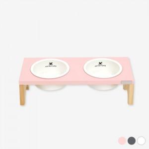 펫니처 2구 강아지 고양이 식기 /화이트,그레이,핑크가격:46,000원