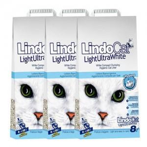 [3개세트]린도캣 라이트 울트라화이트 고양이모래 8L가격:72,000원