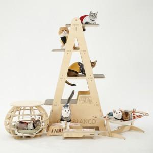 원목 캣타워 에펠타워 (카펫포함)가격:325,000원