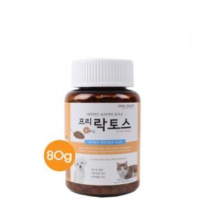 프리락토스 천연 식물성 유산균(환타입) 80g 강아지 고양이 영양제가격:15,000원