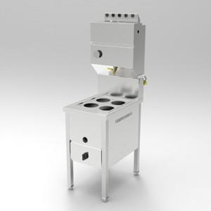 시그마 클린 4구 사각타입 해면기렌지 / 가로500 x 세로650 x 높이800(물통포함1500)