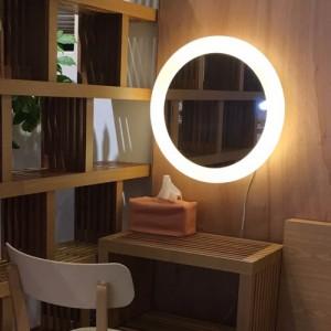 LED 원형거울 조명