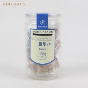 프리락토스 유산균 간식 소프트타입 트릿 120g 강아지 고양이가격:10,000원