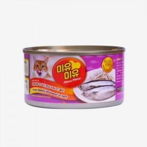 미유미유 참치 토핑 치어 인 젤리 고양이캔 185g가격:1,500원