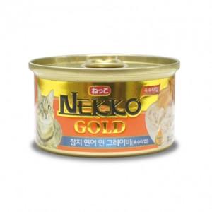 네코 골드 참치&연어 고양이캔 85g가격:1,500원