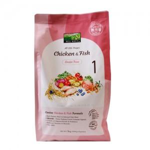 뉴웨이브 그레인프리 치킨&피쉬강아지사료  1kg가격:12,000원