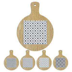 원형 손잡이 냄비받침(디자인A,B,C,D)