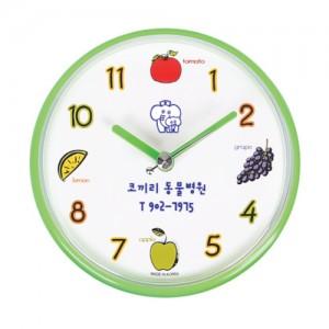 과일 뉴 방수시계