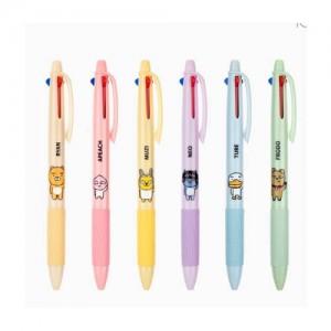 [카카오프렌즈] 3색 볼펜 0.7mm
