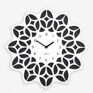 보헤미안 벽시계 화이트&블랙 (Bohemian Clock - WB)