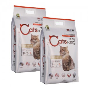 캐츠랑 전연령 고양이사료 5kg X 2EA 캐츠랑 10kg가격:45,000원
