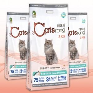 캐츠랑 전연령 고양이사료 5kg X 4EA가격:76,000원