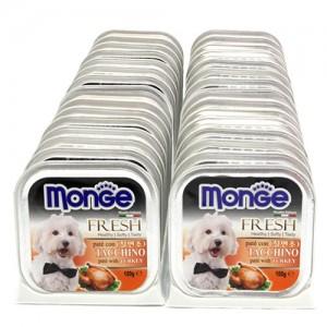 [BOX32개입] Monge 몬지 강아지사각캔 100g 칠면조가격:48,000원